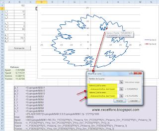 Un Espirógrafo en Excel.