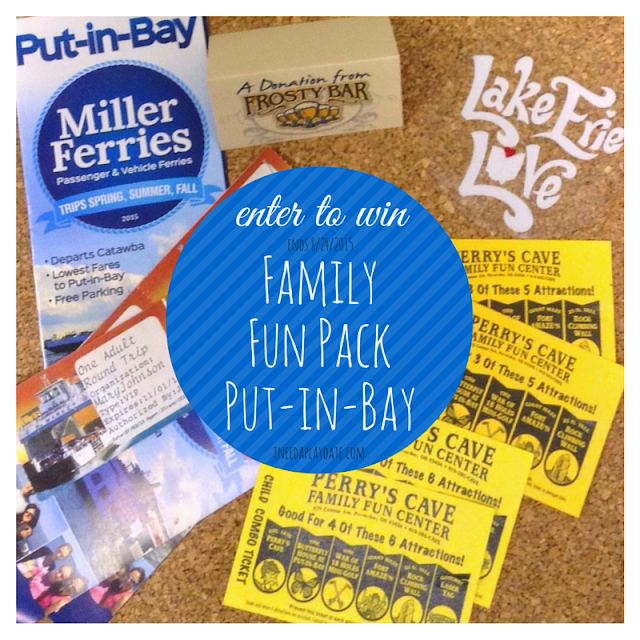 Win a Family Fun Pack to Put-in-Bay #lakeerielove