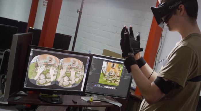 Control VR ofrece brazos y manos para el mundo virtual