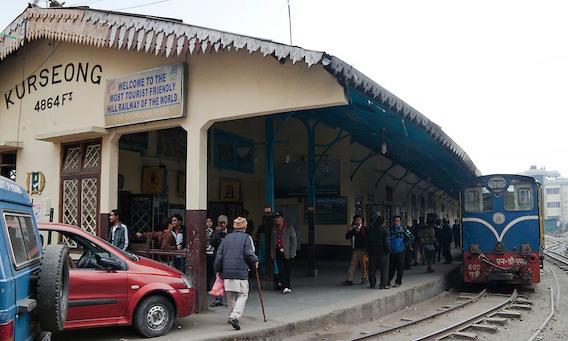 Himalayan Railway - Kurseong Railway Station