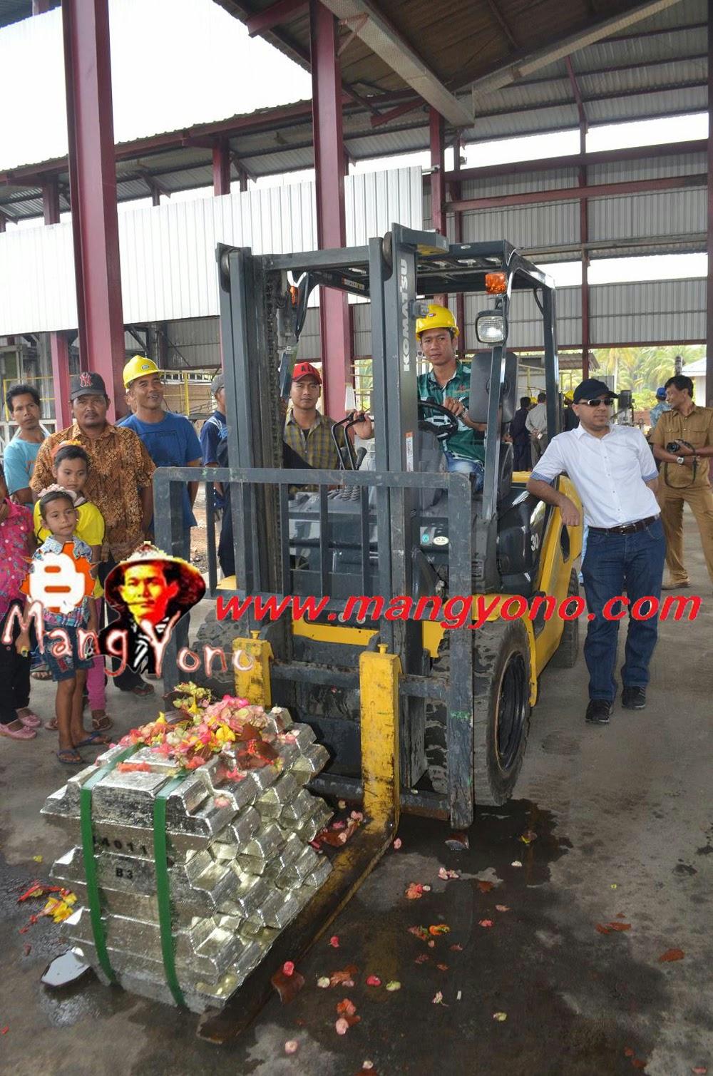 Timah Batang Produksi PT. Wahana Perkit Jaya