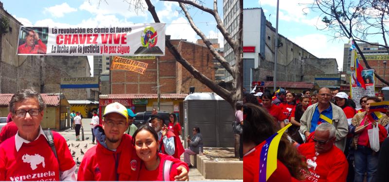 Respuesta del pueblo chavista de Bogotá, a un ilustre ensotanado, poco informado