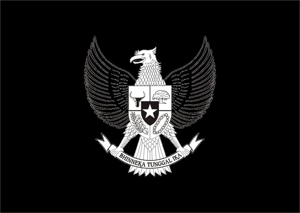 Download Logo Garuda Pancasila Hitam Putih Vector cdr dan Ai