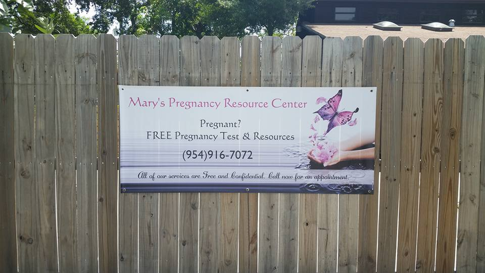 Front of Pregnancy Resource center