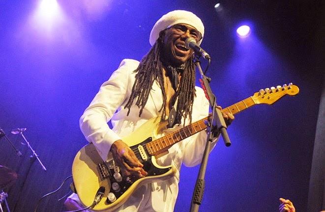 Nile Rodgers e gli Chic live a milano venerdì 19 settembre 2014