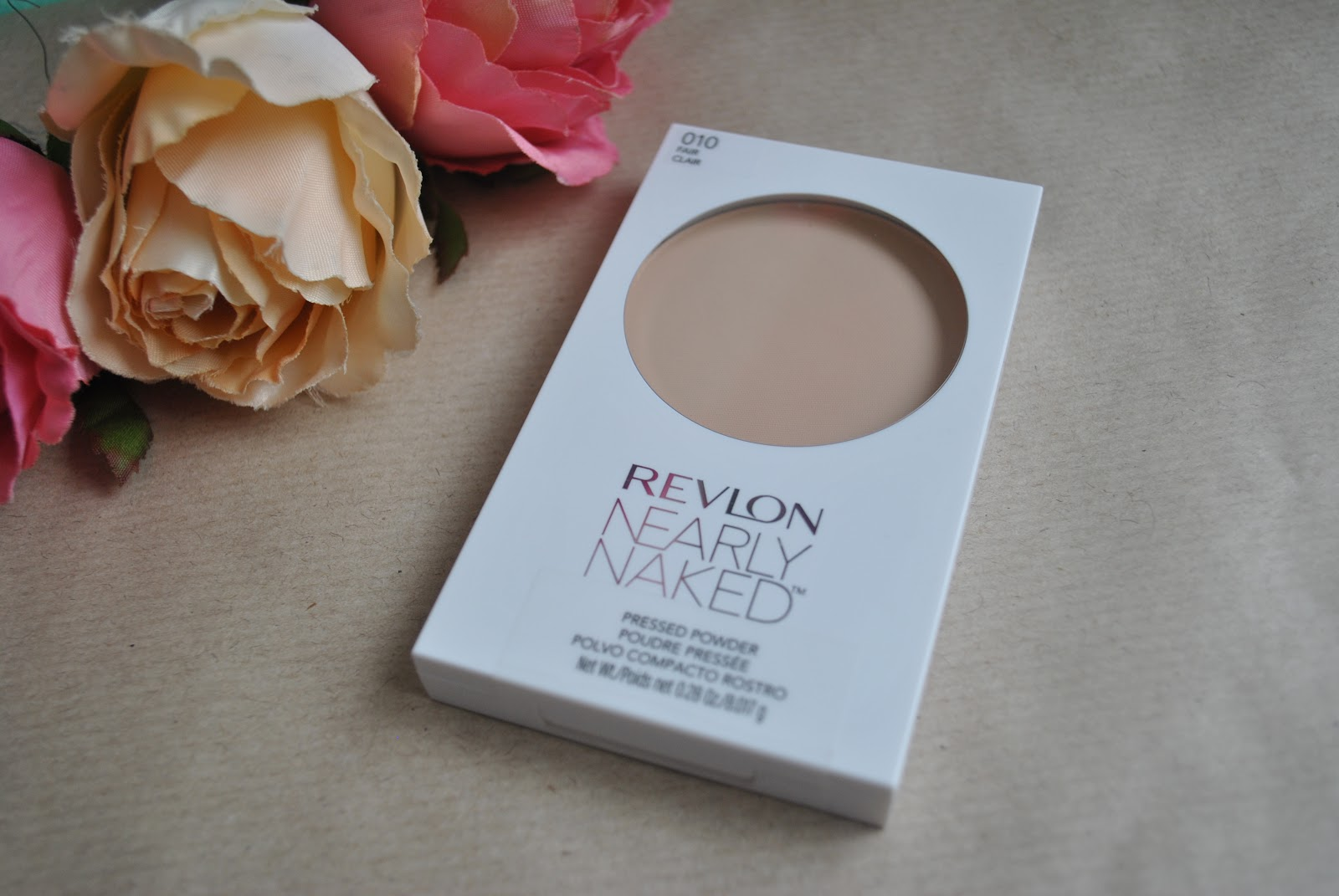 Revlon Nearly Naked Pressed Powder in Light Review