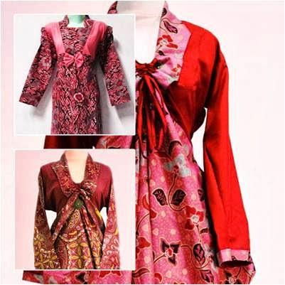 Update Model Baju Gamis Batik Terbaru 2013