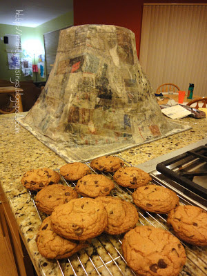 volcano + cookies = awesome!