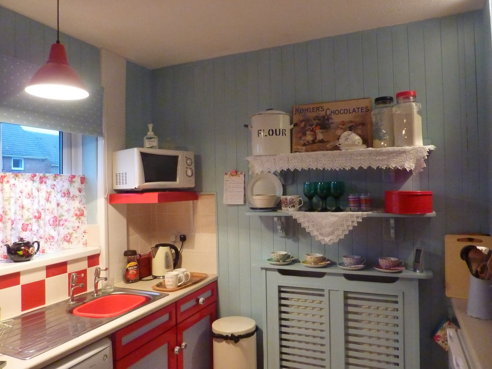 Vintage frugal home just for tracey and anyone else - Diseno de cocina ...