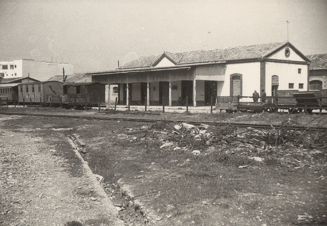 Estació de Gandia, actual biblioteca infantil