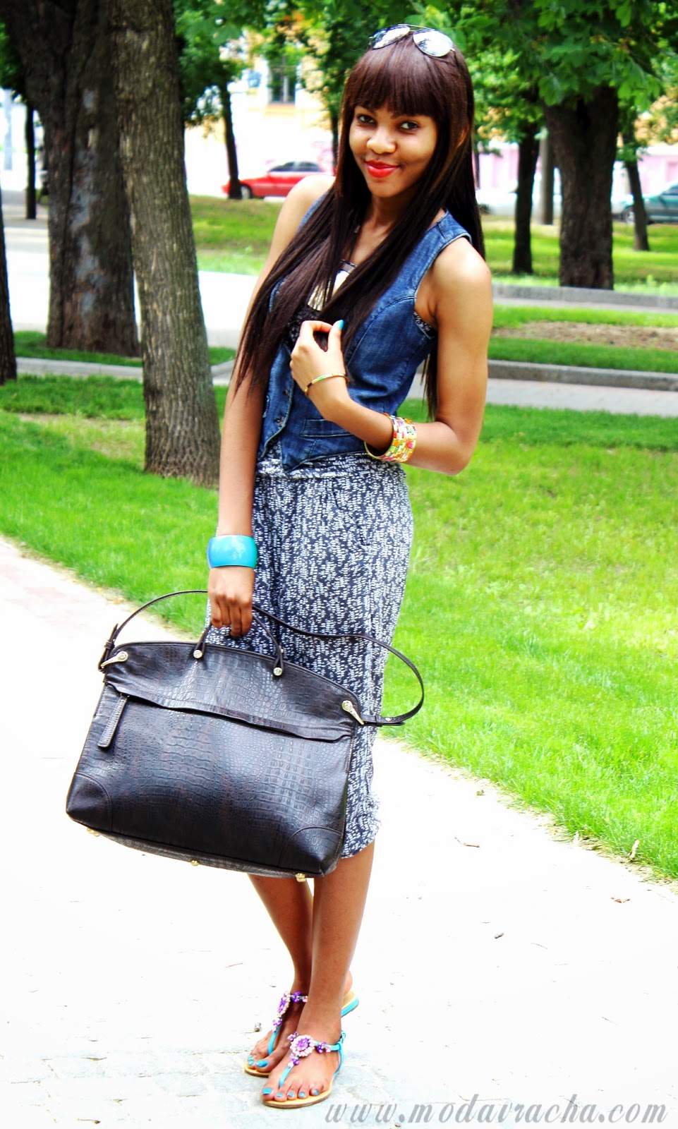 fashion leather oversized bag