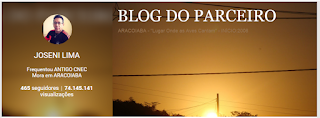 SIGA O BLOG DO PARCEIRO NO GOOGLE+