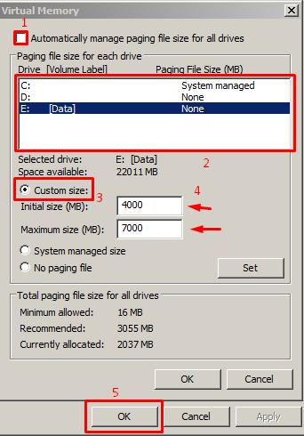 Langkah #5 Menambah Ukuran RAM Komputer
