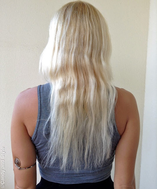 Natural Platinum Blonde Hair
