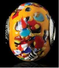hawa ghazzali collections, charm bracelet, manik kaca murano, porselin buatan tangan, handmade porcellain