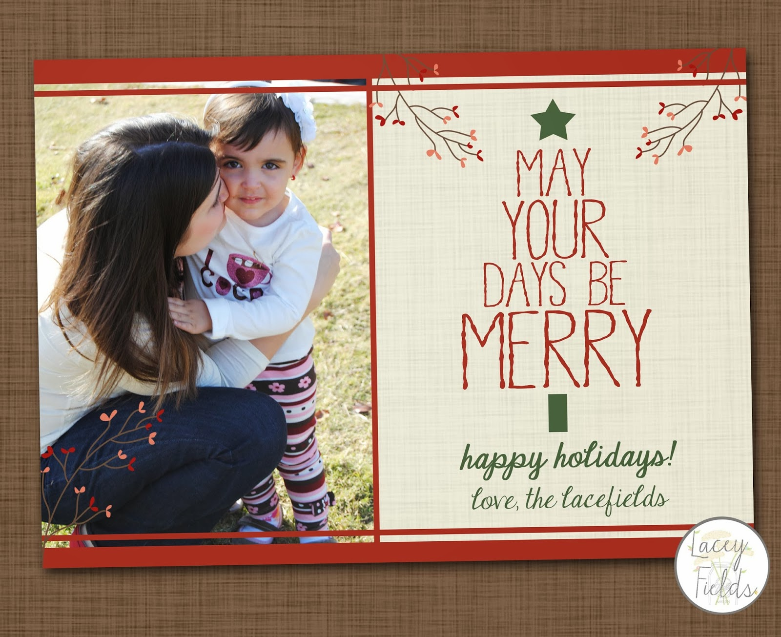 Lacey Fields: Christmas Card Collection