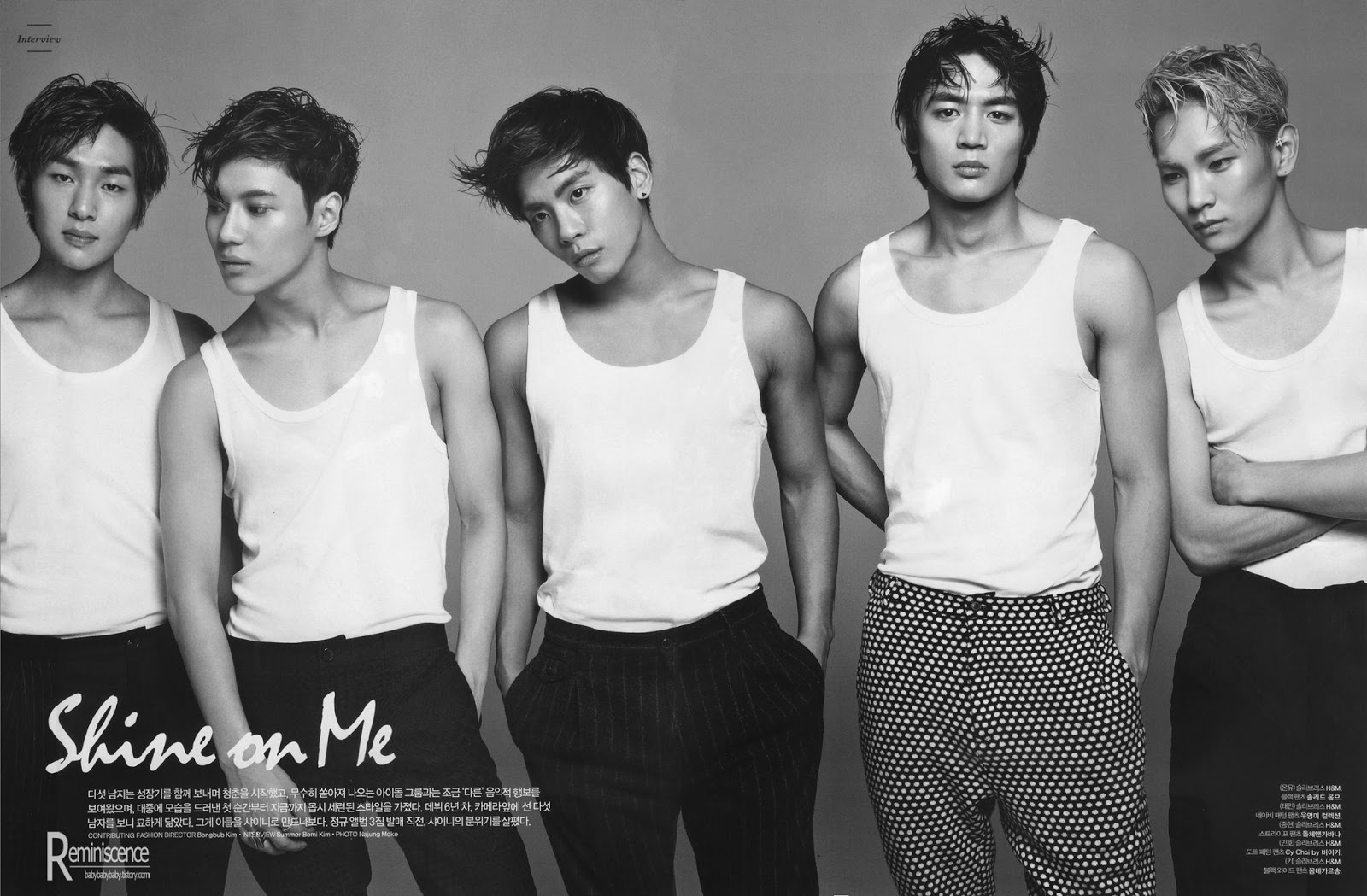 Shinee key dating male model