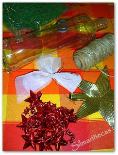 cómo-hacer-un-árbol-de-navidad-con-una-botella-de-cristal-