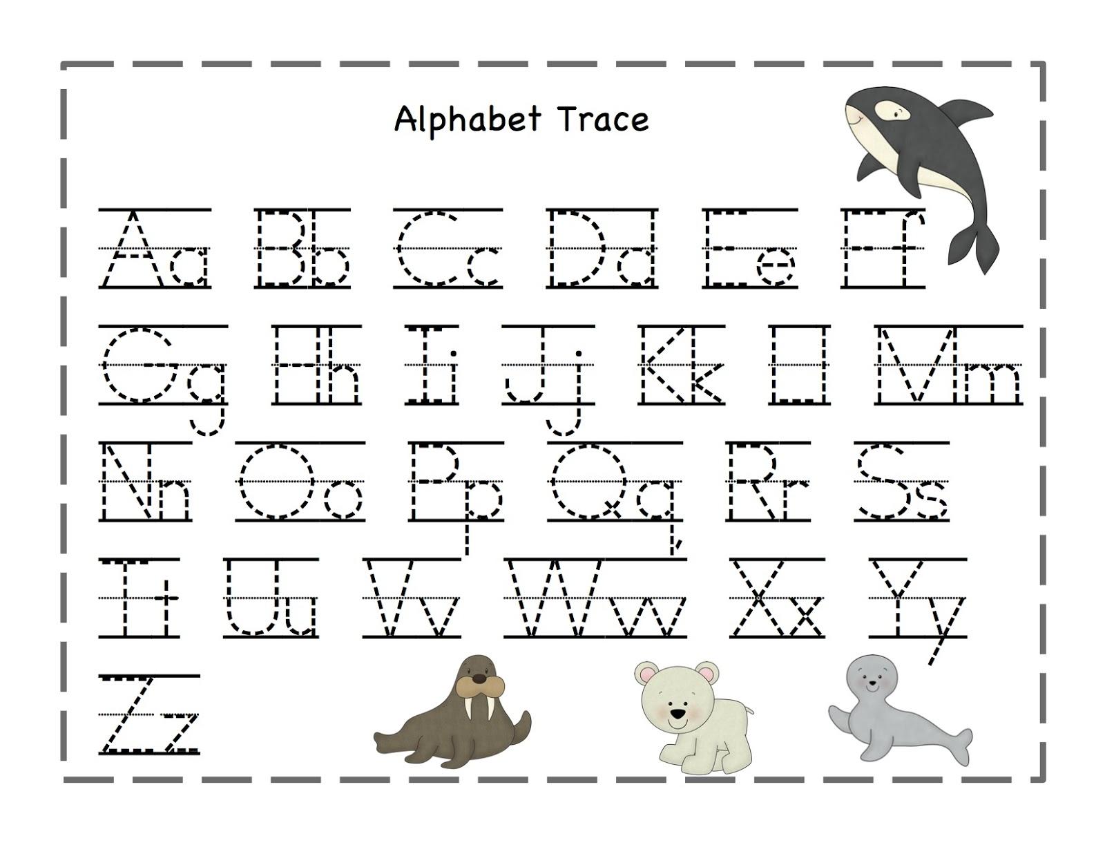 Transformative image for alphabet line printable