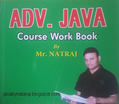natraj sir core java notes pdf
