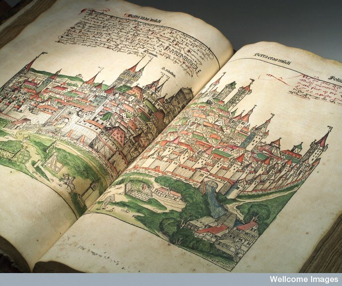 Wellcome Library Item of the Month: 'Nuremberg Chronicle'