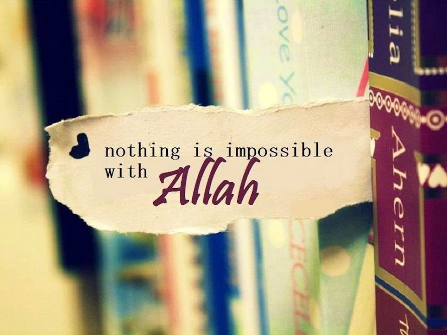 Believe Allah in every seconds of our llife