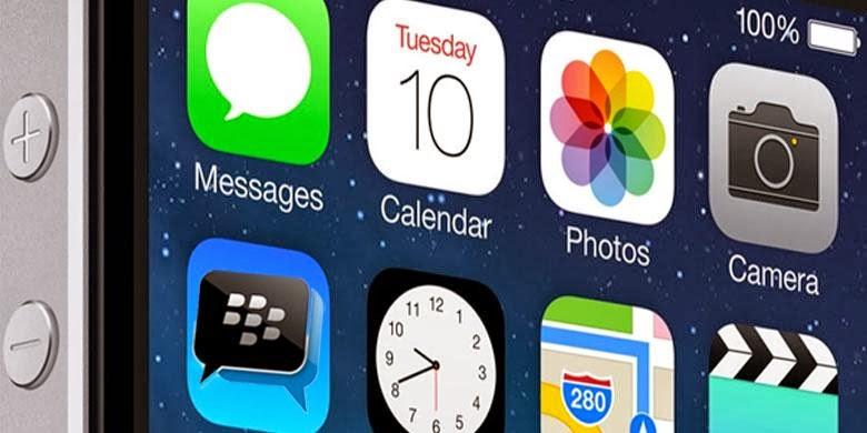 Download BBM untuk iPhone Versi 1.0.0.67 gupitan