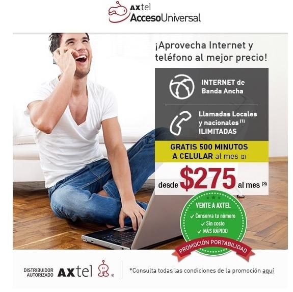 Promoción Axtel Tv