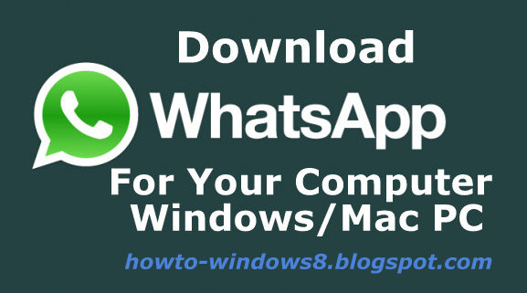 whatsapp for pc computer
