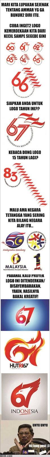 Logo Kemerdekaan Indonesia