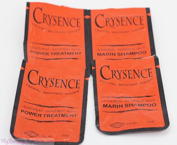 Palan Crysence 100% Natural Mineral Marin Shampoo and Power Treatment
