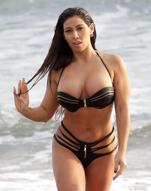 brazilian bikini swimwear actress