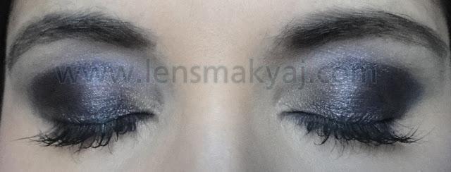 Smoky Göz makyajı