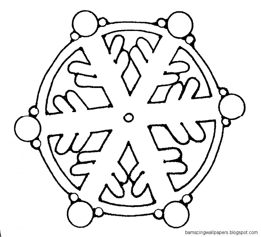 White Snowflake Clipart  Clipart Panda   Free Clipart Images