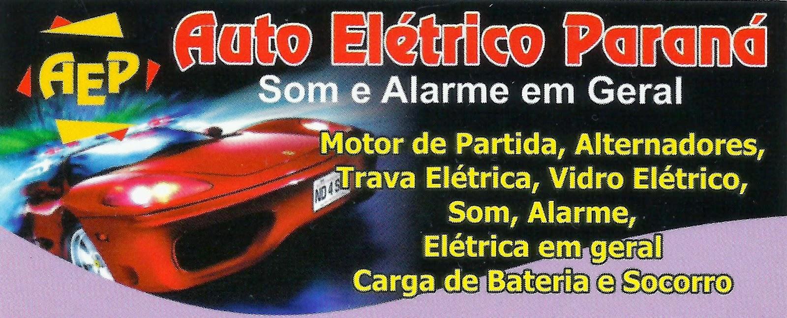 Auto Elétrico Paraná Som e Alarme em Geral Rua. Quintino Bocaiuva, 46 Centro - Sarapuí - SP tel: (15) 3276-1487 / TIM:(15) 98115-4474 VIVO: (15) 99785-8121 / 99736-5353
