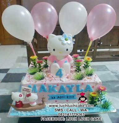 Kue Tart Hello Kitty Daerah Surabaya - Sidoarjo