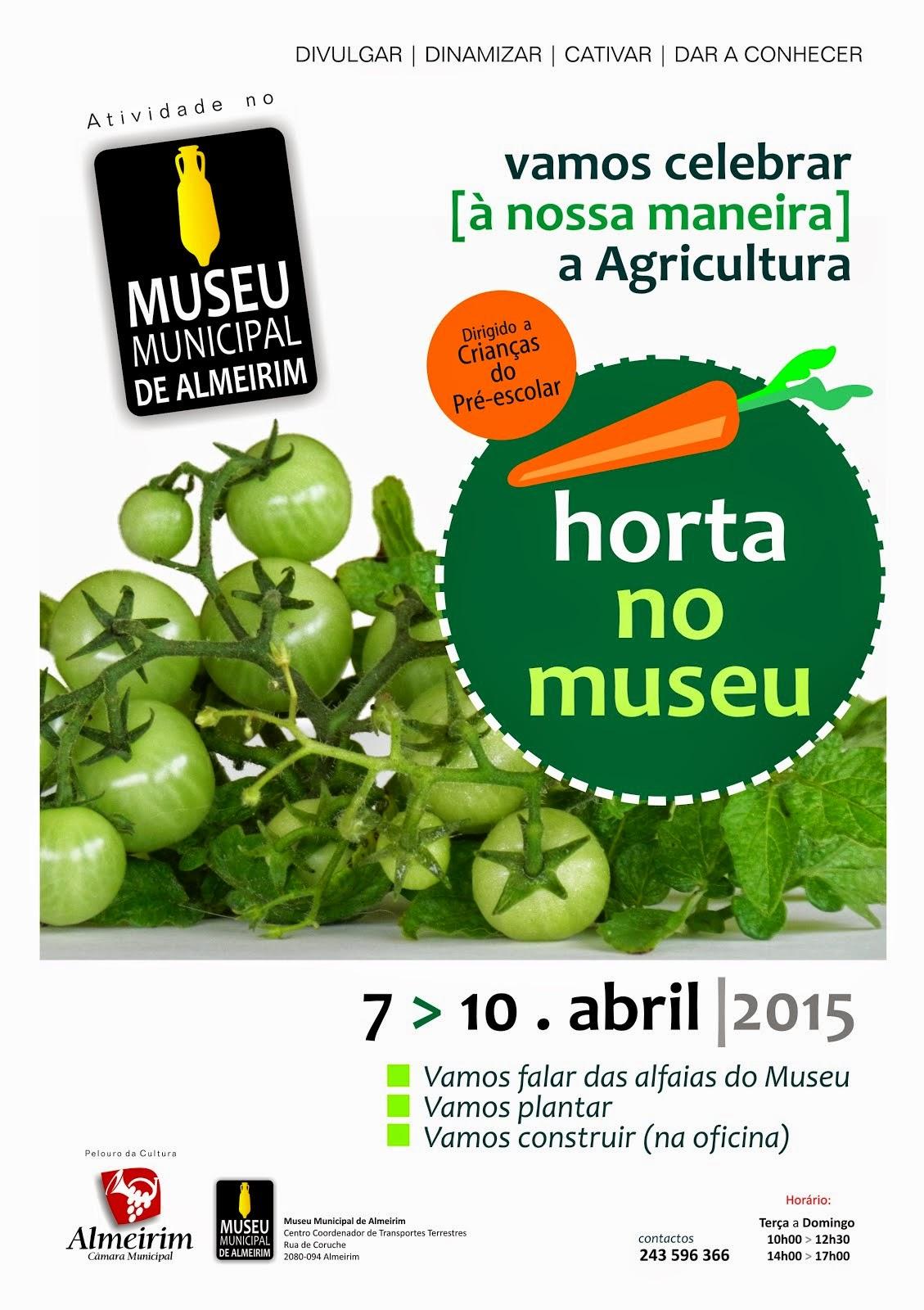 Horta no Museu
