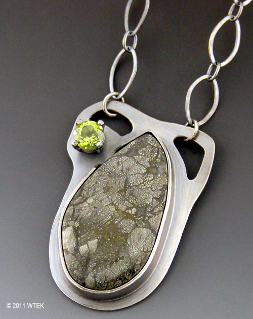 Wendy Edsall-Kerwin: Scale pendant
