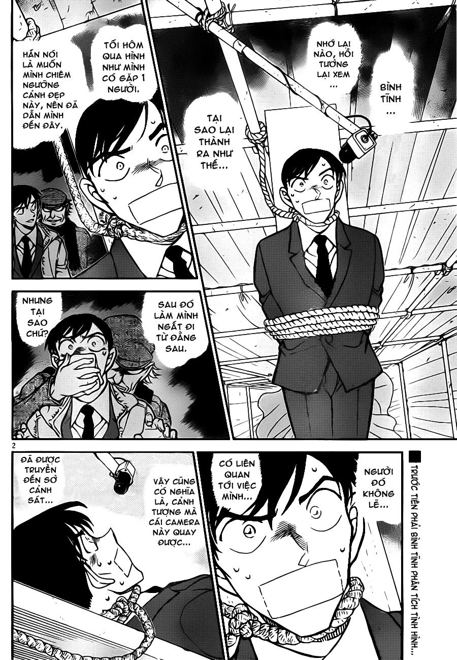 Thám Tử Lừng Danh Conan - Chapter 805 - Pic 2