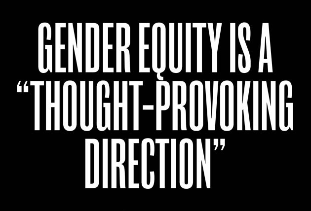 examine gender equity as it relates Assignment 2: the brand effect in this assignment, you will examine how target market selection and positioning relates to brand congruency and brand equity.