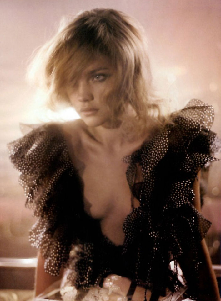 Natalia Vodianova in Marvellous excess | Vogue Italia March 2004 supplement (photogaphy: Glen Luchford)
