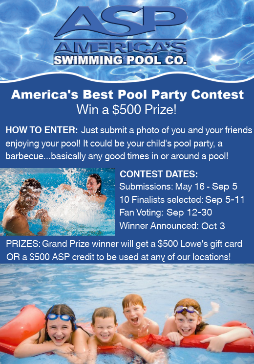 America 39 s swimming pool company social media contest - Swimming pool franchise opportunity ...
