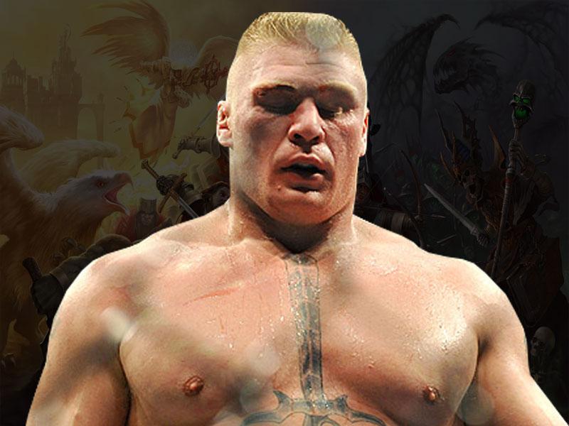 Free WWE Games Brock Lesnar Wallpapers