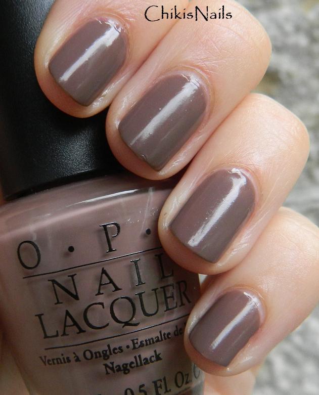 Purple Taupe Nail Polish: Chikisnails: August 2011