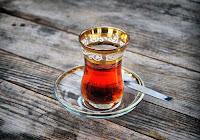 Çay, Demli Çay, Çay Saati, Çay Keyfi, Çay Bardağı Kaşığı Tabağı