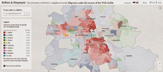 Maps Mania: The Berlin Migrant Map