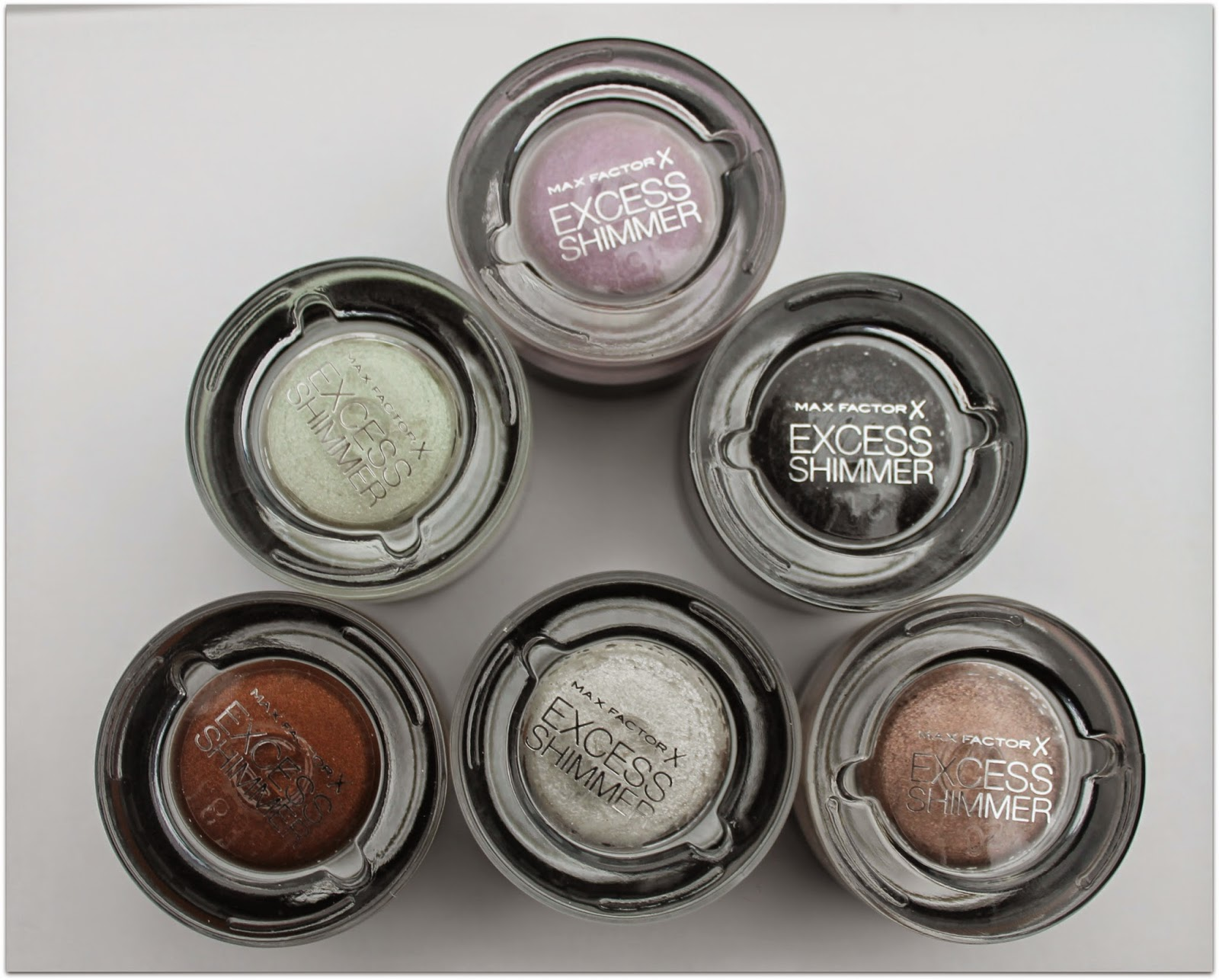 Max Factor Excess Shimmer Eyesdows