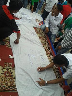 Aksi Nyata 1500 Pemuda Fesbuker untuk Mengawal Pilwako dan Pilgub yang Jurdil