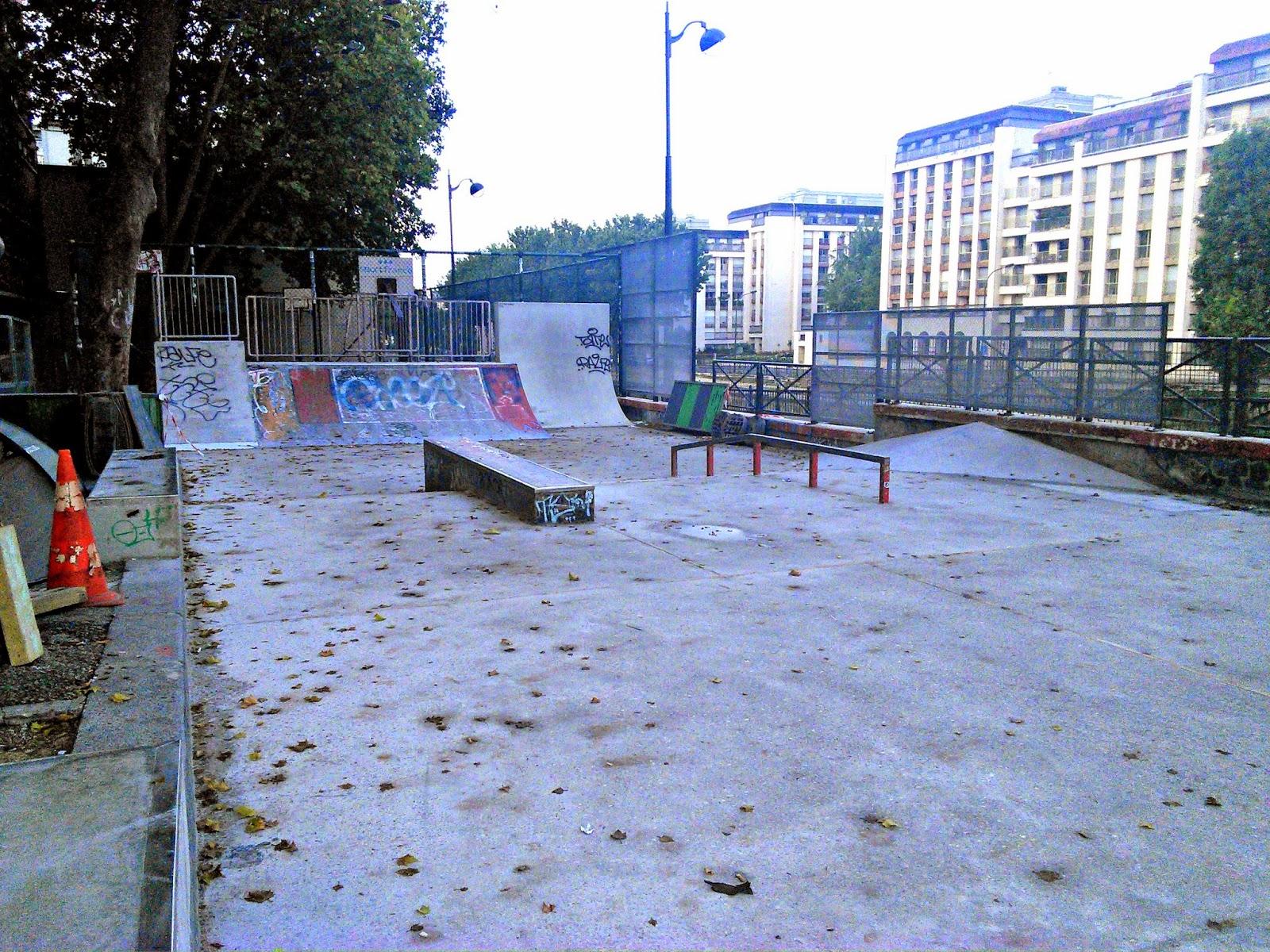 Jemmapes travaux skatepark