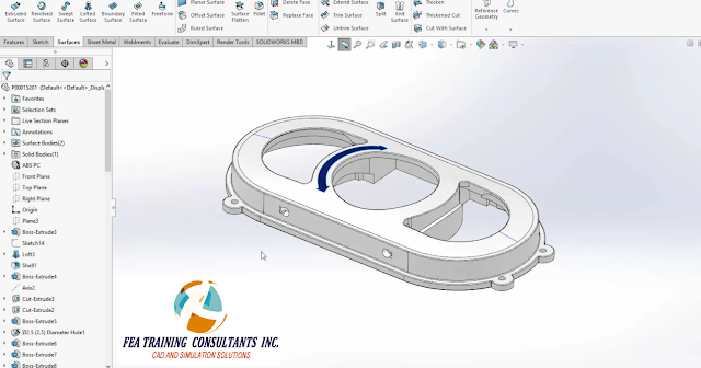 flat pattern in solidworks